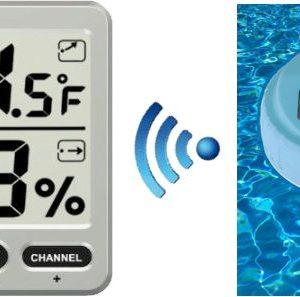 Sensor Termómetro Inalámbrico Para Piscinas y Estanques